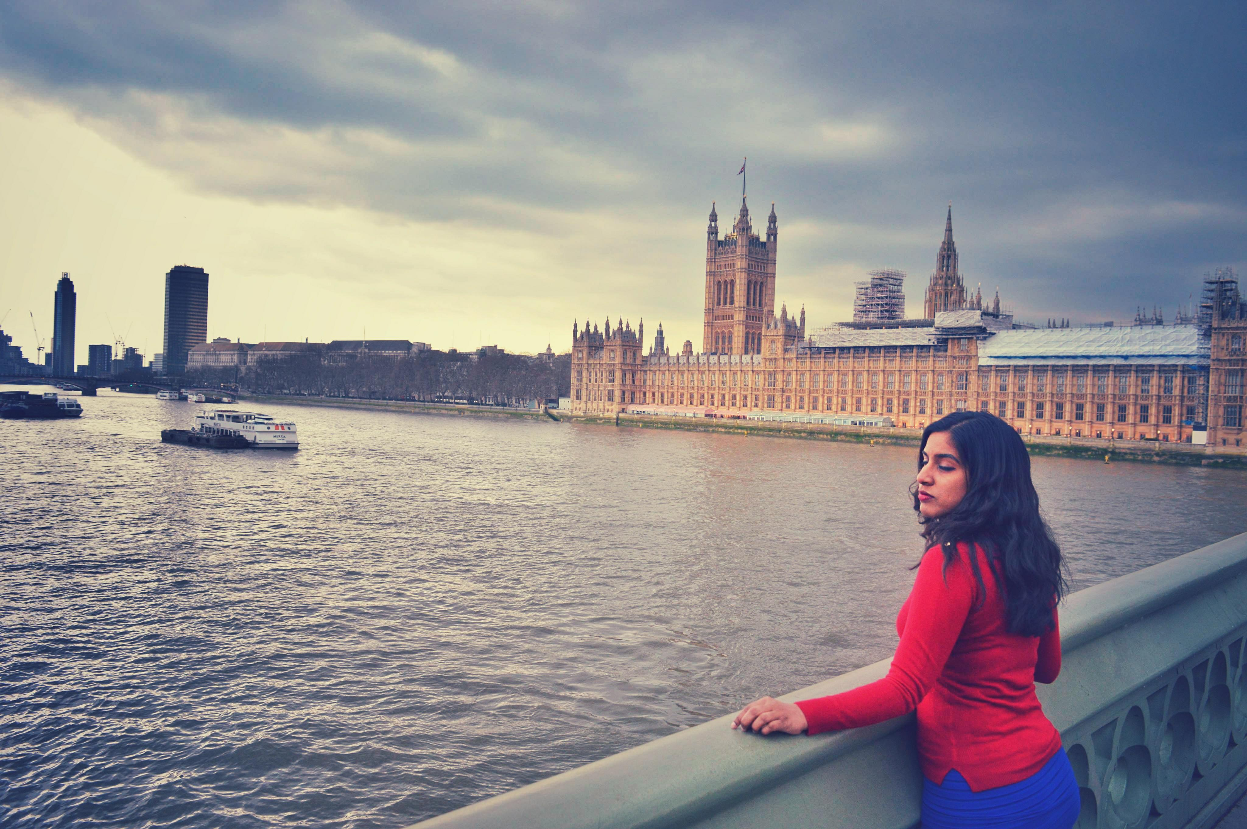 Indian girl in london